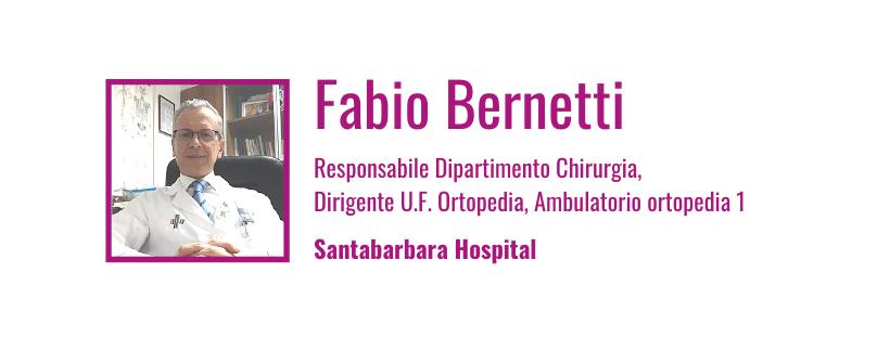 fabio bernetti - mini protesi ginocchio - santabarbara hospital gela